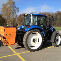 Salzstreuer epoke TP3 300 L Ausatzrahmen Trägerfahrzeug Traktor