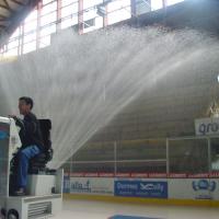 WM Evolution mit Wasserwerfer